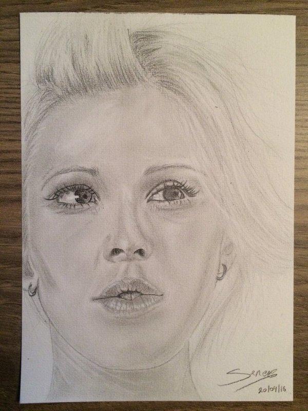 Ellie Goulding by SerenaToscano